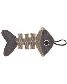 BARRY KING Rybia kostra z odolného materiálu šedomodrá 14 x 7,5 cm