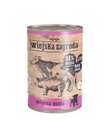 WIEJSKA ZAGRODA Mäsové hody pre šteniatka 800 g