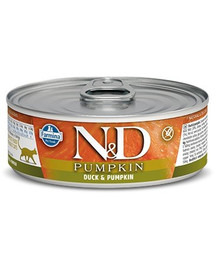 FARMINA N&D Cat Adult Duck & Pumpkin 80 g