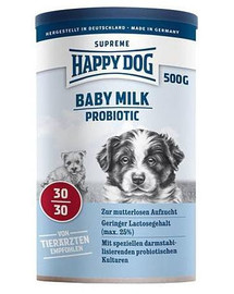 HAPPY DOG Mlieko pre šteňata baby milk Probiotic 500g