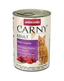 ANIMONDA Carny hovädzie mäso a jahňacie 400g
