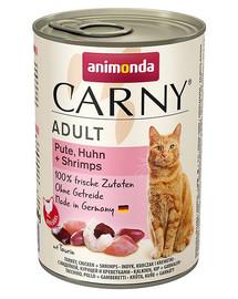 ANIMONDA Carny Cat hovädzie/morka/krevety 400g