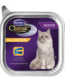 BUTCHER'S Classic Indoor Cat kuracie Paté 100 g
