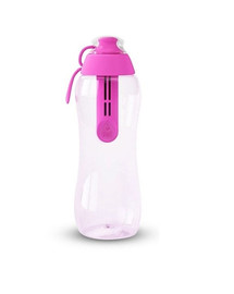 DAFI Filtračná fľaša 0,3 l + 1 ks filter, ružová