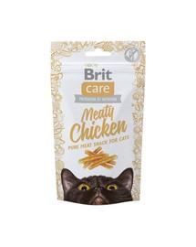 BRIT Care Cat Snack Meaty Chicken 50 g