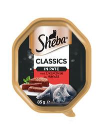 SHEBA Classics 85g hovädzie