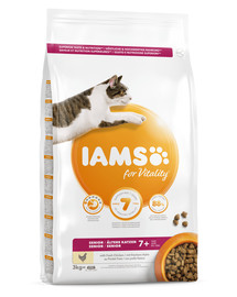 IAMS For Vitality Cat Senior Chicken 3 kg