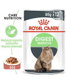 ROYAL CANIN Digest SENSITIVE v omáčke 85g x 12