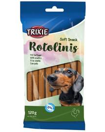 TRIXIE Rotolinis hydinové mäso tyčinky 120 g