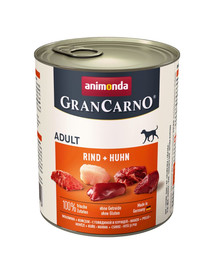 ANIMONDA Grancarno hovädzie/kuracie konzerva 800 g
