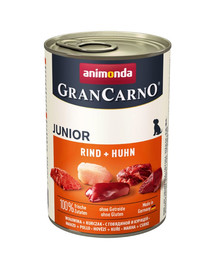 ANIMONDA Grancarno Konzerva 800 g junior kura + králík