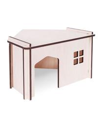 PET INN Sklopný drevený domček rohový 1