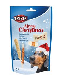 TRIXIE vianočný darček pre psa, 6 ks / 156 g