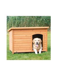 TRIXIE Drevená búda pre psa, rovná strecha M