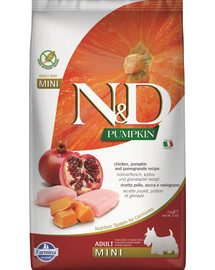 FARMINA N&D Pumpkin Adult Mini Chicken & pomegranate 2,5 kg