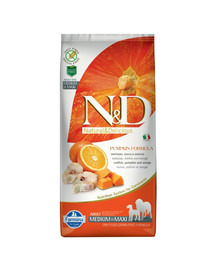 N&D Pumpkin Adult medium & maxi codefish & orange 2,5 kg