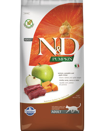 FARMINA N&D Pumpkin Cat vension & apple 5 kg