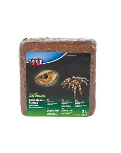 TRIXIE Kokosový humus, tropický substrát2 l / 160 g 6 ks