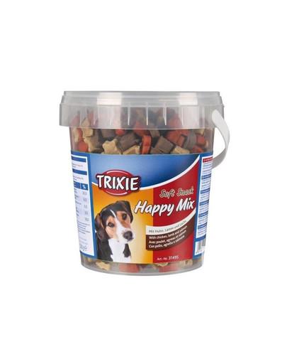 TRIXIE Soft snack pre psa mix kurča, jahňacie, losos 500 g