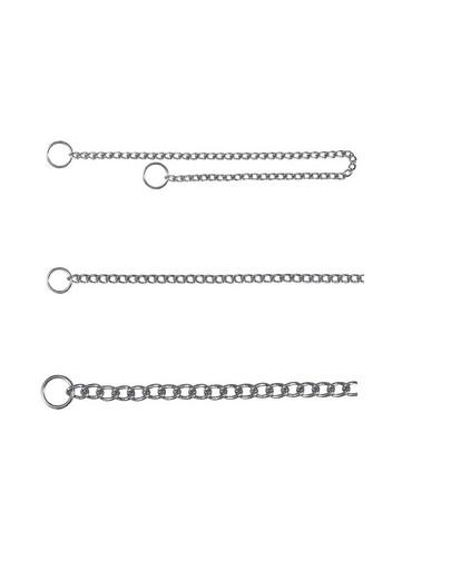 TRIXIE Obojok kovový sťahovák 35 cm / 2 mm 1-radový