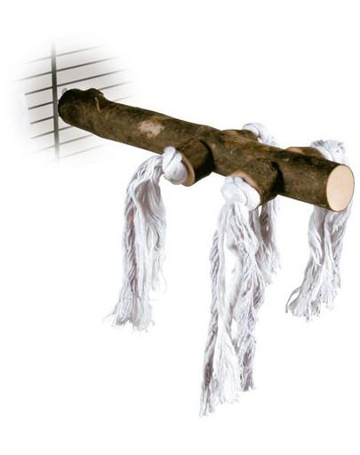 TRIXIE Drevené bidielko s bavlnou 25 cm