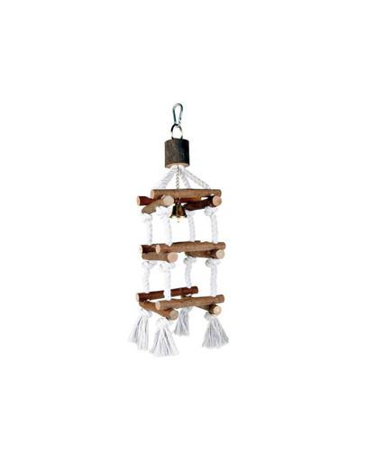 TRIXIE Zábavná hračka drevená pre vtáky 34 cm