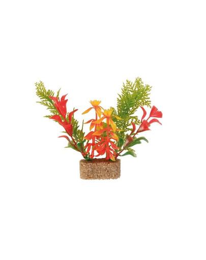 Trixie Plastové rastliny s podkladovým pieskom 20 cm