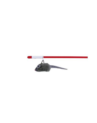 TRIXIE Pípacia myš na prúte 47 cm