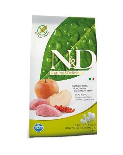 Farmina N & D Grain Free Boar & Apple Adult Dog 2,5 kg