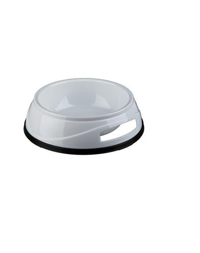 TRIXIE Plastová miska HEAVY s gumovým okrajom 0.3 l / 12 cm