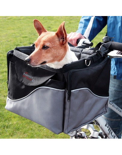 TRIXIE Prepravný box pre psa na bicykel 43x26x26cm