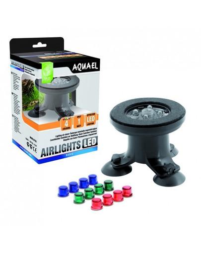 AQUAEL Koncovka k prevetrávaniu Airlights LED