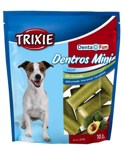 TRIXIE Denta fun mini s avokádo 10 ks 140 g