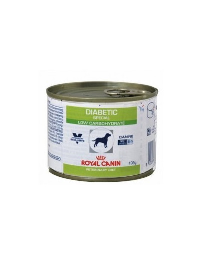 ROYAL CANIN Veterinary Health Nutrition Dog Diabetic Can 195g Konzerva