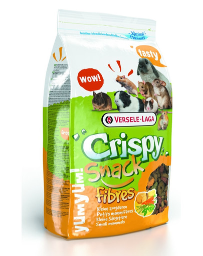 Versele-LAGA Crispy Snack Fibres 15 kg Doplňujúca zmes s vysokým obsahom vlákniny