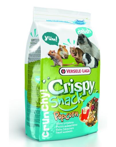 Versele-LAGA Crispy Snack Popcorn 10 kg - Doplňujúca zmes s praženými zrnami pre hlodavce