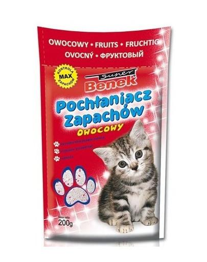 Benek Sanitizer / Pohlcovač zápachov s vôňou ovocia 200 g
