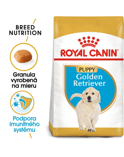 ROYAL CANIN Golden Retriever Puppy 3 kg granule pre šteňa zlatého retrievera
