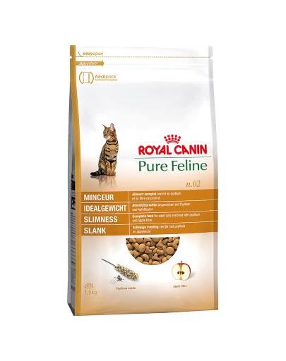 ROYAL CANIN Pure feline n.02 (štíhla línia) 1.5 kg