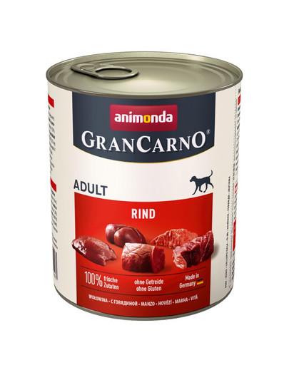 ANIMONDA Grancarno Konzerva 0.8 kg hovädzie