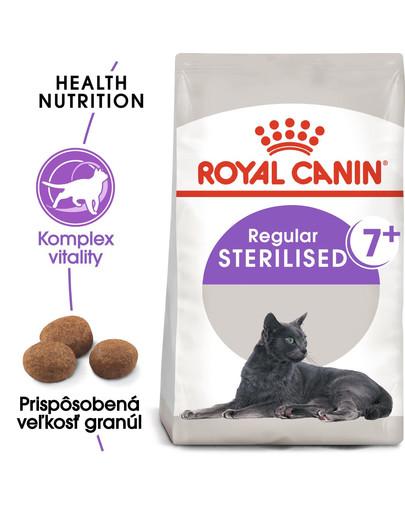ROYAL CANIN Sterilised 7+ granule 3,5kg pre starnúce kastrované mačky