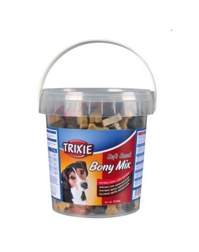 TRIXIE Soft snack pre psa kocky mix hovädzie, jahňacie, losos, kurča 500 g