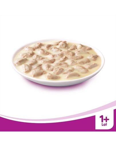 WHISKAS Krémová polievka s hovädzím mäsom 85g x28