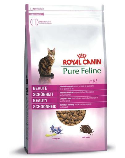 ROYAL CANIN Pure feline n.01 (pekná srsť) 0.3 kg