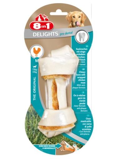 8in1 Dental Delights žuvacia kosť M