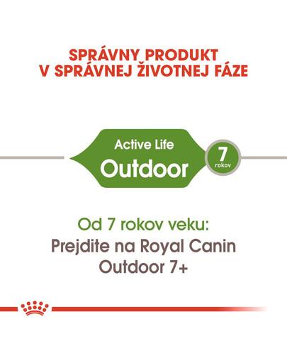 ROYAL CANIN Outdoor 2kg granule pre mačky s častým pohybom vonku