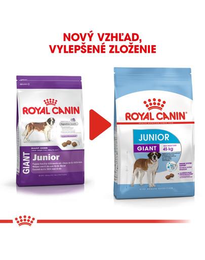 ROYAL CANIN Giant Junior 18 kg granule pre obrie šteňatá