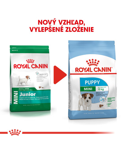 ROYAL CANIN Mini Puppy 2kg granule pre malé šteňatá