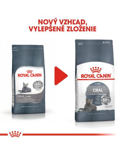 ROYAL CANIN Oral Care 8 kg granule pre mačky znižujúce tvorbu zubného kameňa