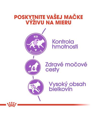 ROYAL CANIN Sterilised 2kg granule pre kastrované mačky